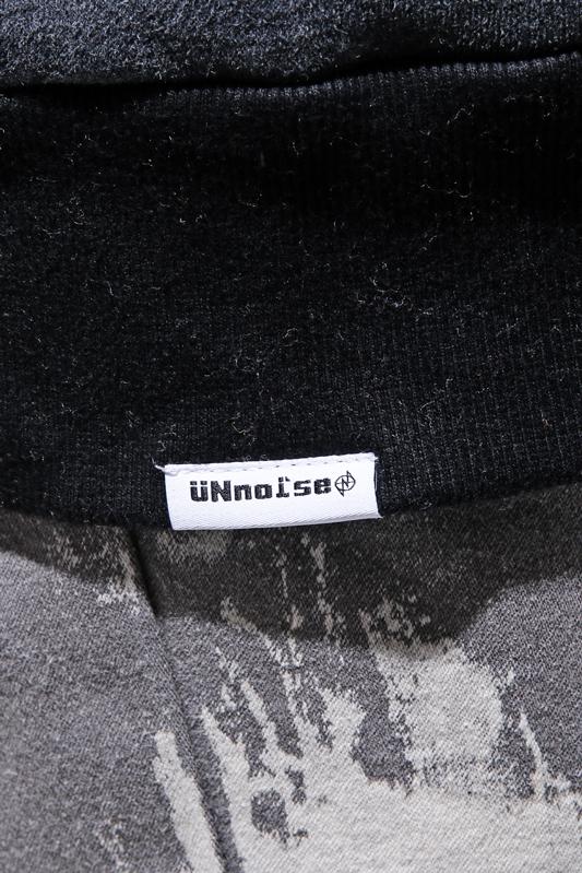 【SALE】UNNO1SE Circle Logo Rib Lineプルパーカー