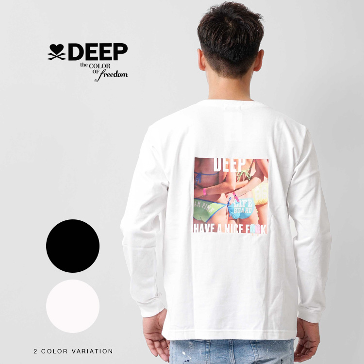 【SALE】DEEP Hips PhotoロンT