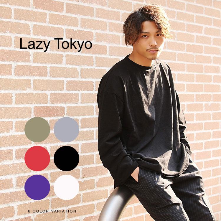 【SALE】Lazy Tokyo スーパービッグシルエットロンT