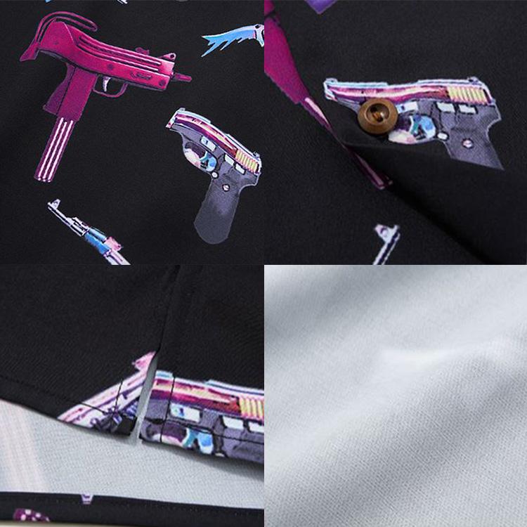 【SALE】Lazy Tokyo Multi Weaponオープンカラーシャツ