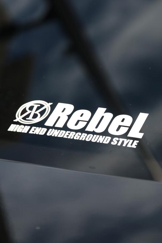 【SALE】RebeL Underground カッティングシート
