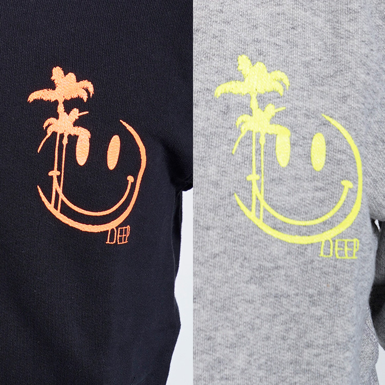【SALE】DEEP Neon Smiley Logoセットアップ