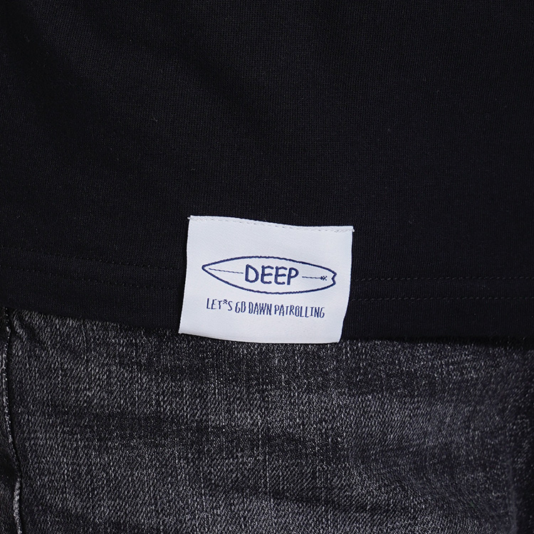 【SALE】DEEP Icon Leather PatchロンT