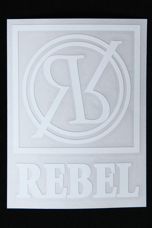 【SALE】RebeL ICON カッティングシート