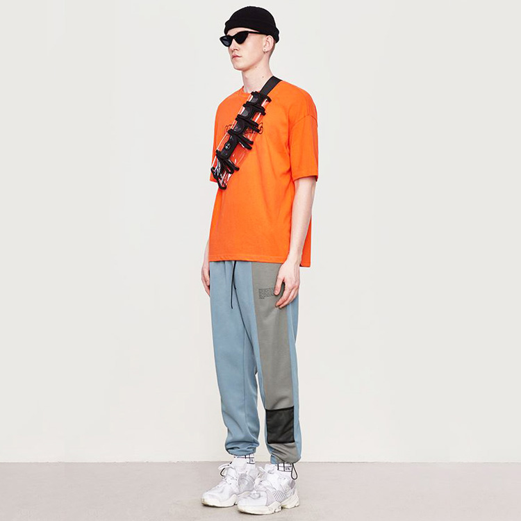 【SALE】Lazy Tokyo Switching Bicolorジャージーパンツ