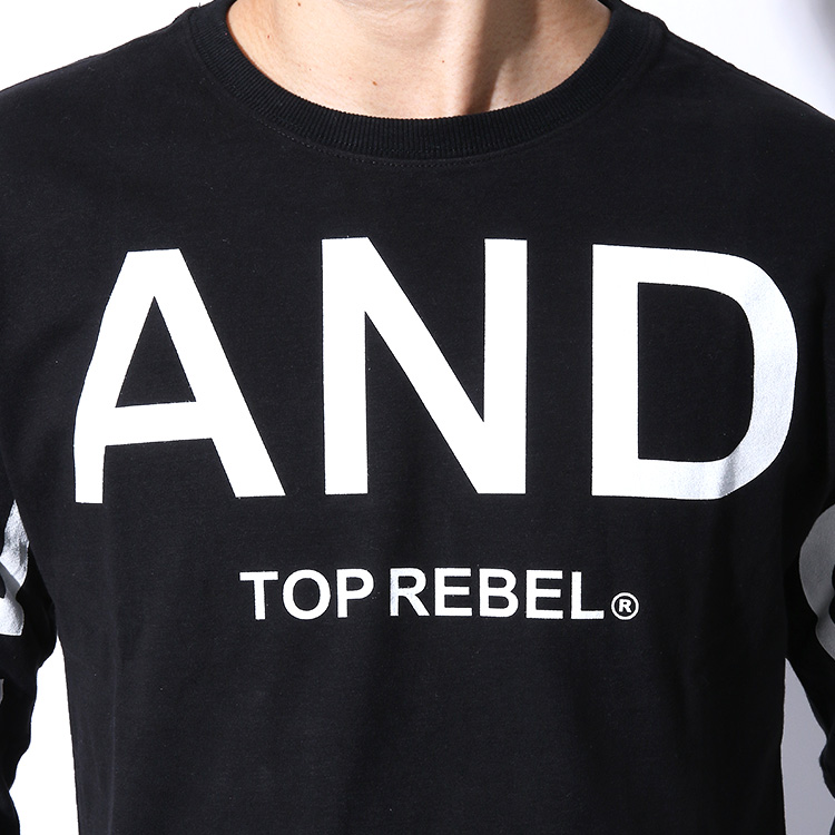 【SALE】RebeL ONE AND ONLYスームースロンT
