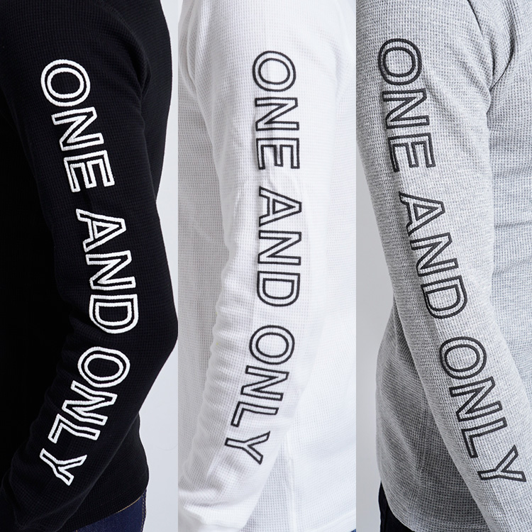 【SALE】RebeL ONE AND ONLYサーマルロンT