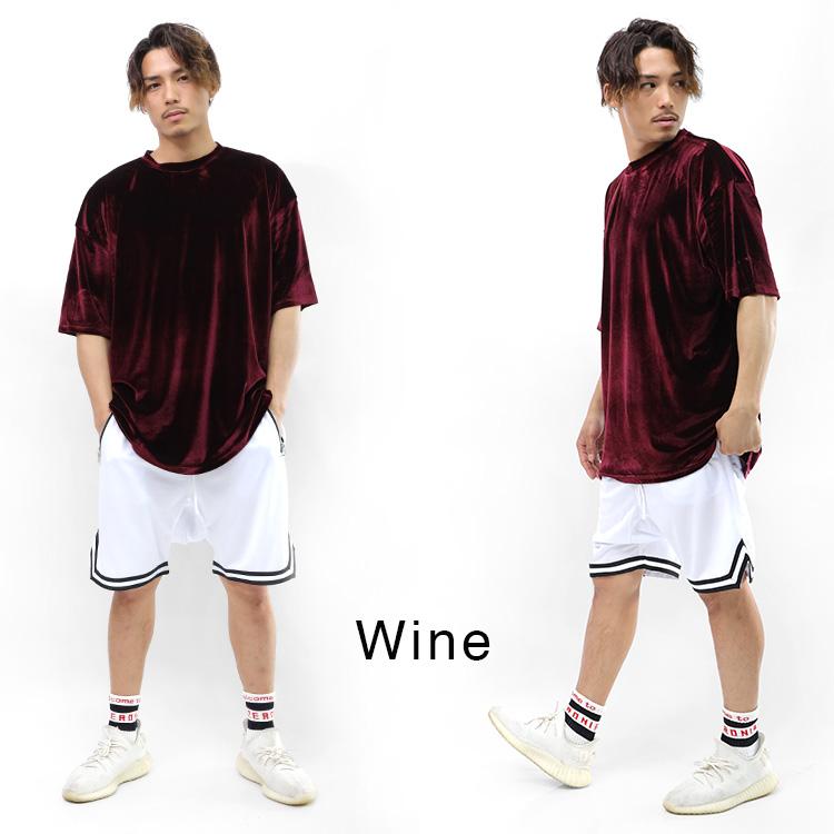 【SALE】Lazy Tokyo ベロアビッグシルエットTシャツ