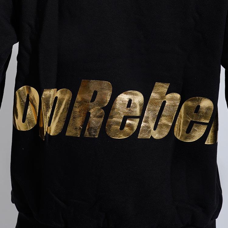 【SALE】RebeL Golden Hoodieプルパーカー