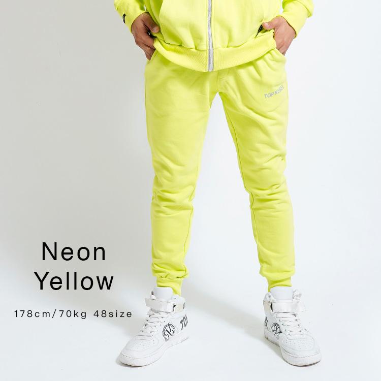 【SALE】RebeL Neon Pointスエットパンツ