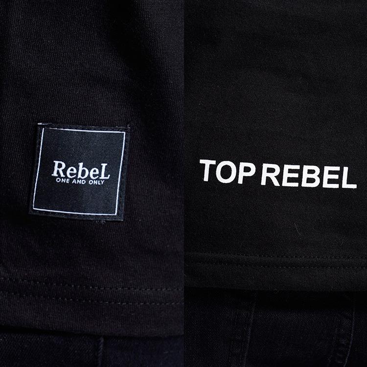 【SALE】RebeL AnimalフロントネームロンT