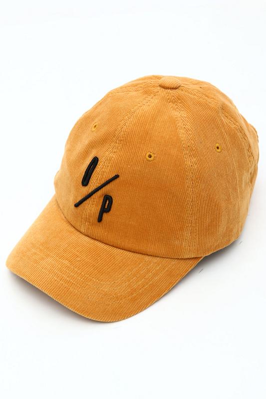【SALE】DEEP Embroidery Corduroyパネルキャップ