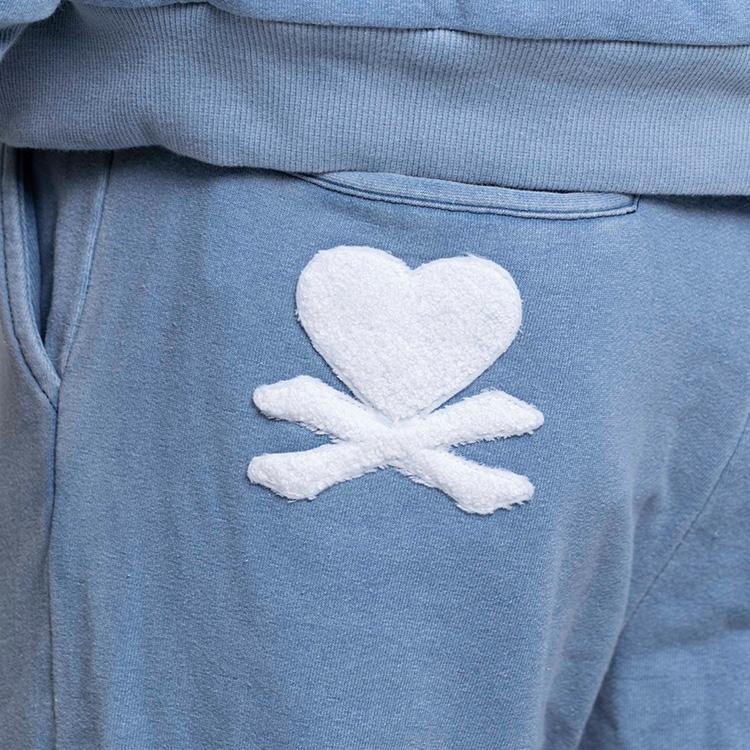【SALE】DEEP Sagara Embroidery Denimスエットパンツ