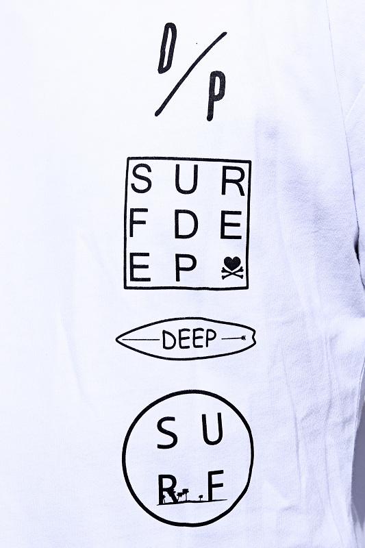 DEEP Long Length Surf LogoロンT