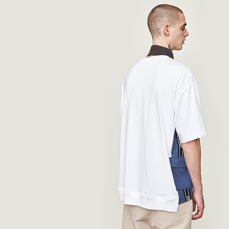 【SALE】Lazy Tokyo Side Pocket Switching Tシャツ
