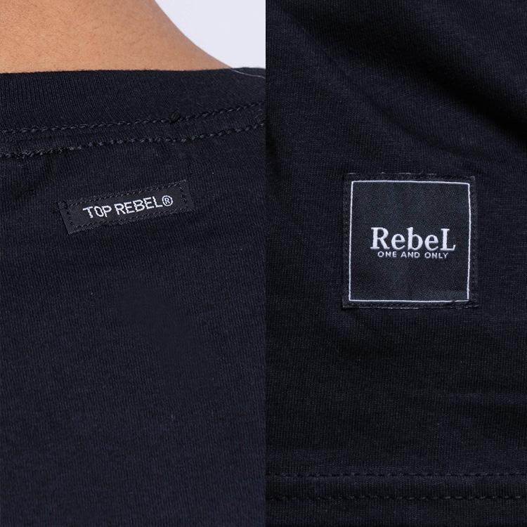 RebeL 3DフロントネームロンT