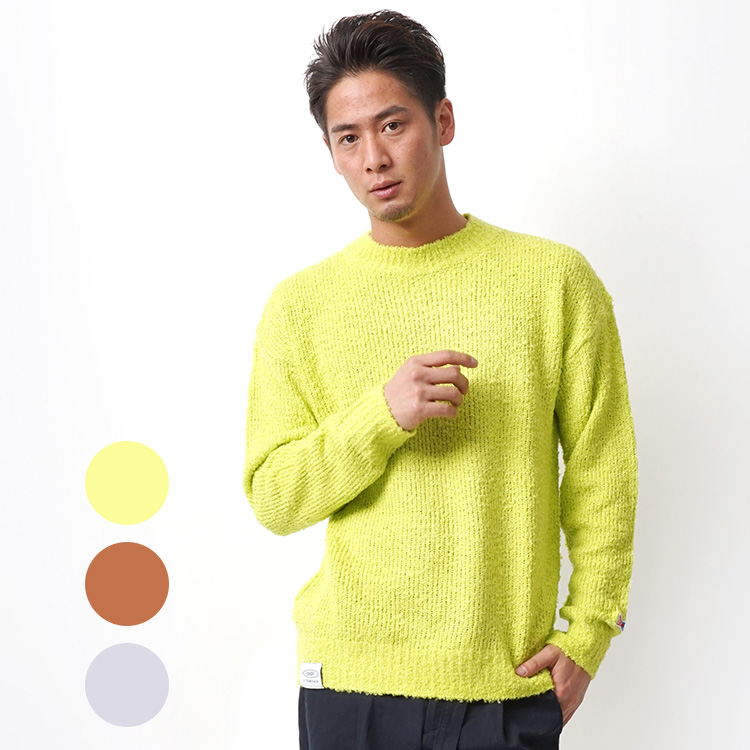 【SALE】DEEP Boucle Knittingクルーネックニット