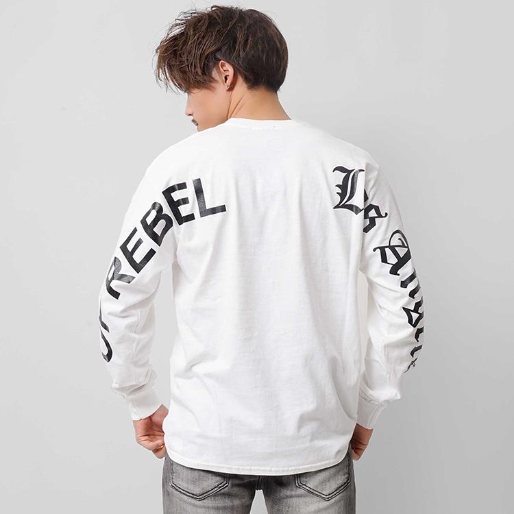 【SALE】RebeL TOPREBEL Los AngelsロンT