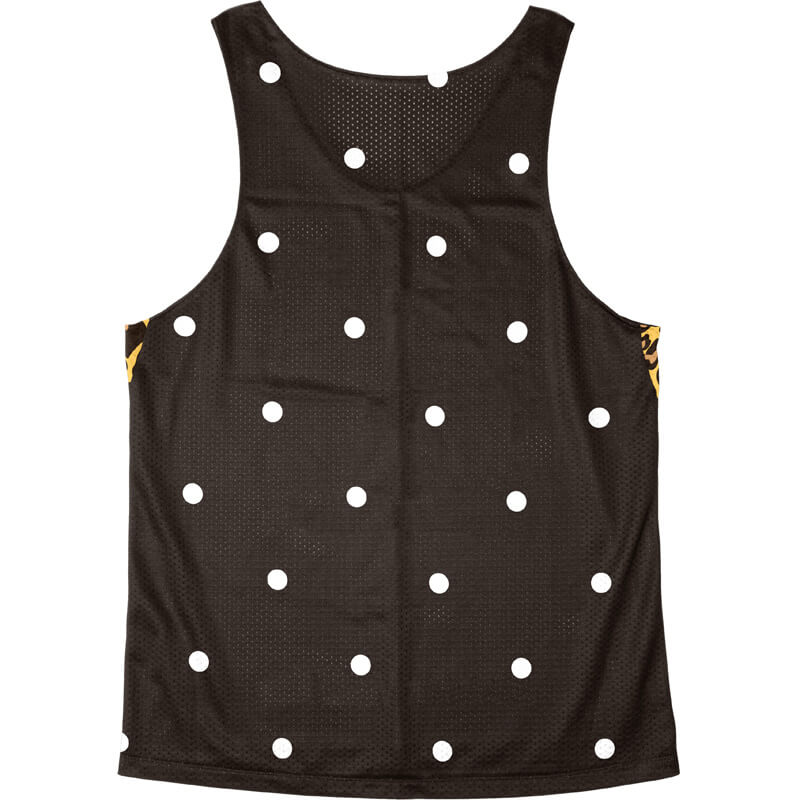 Singlet Box logo Leopard Black Dot