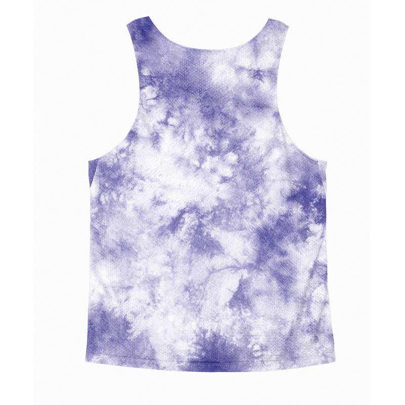 Singlet Purple Tie dye