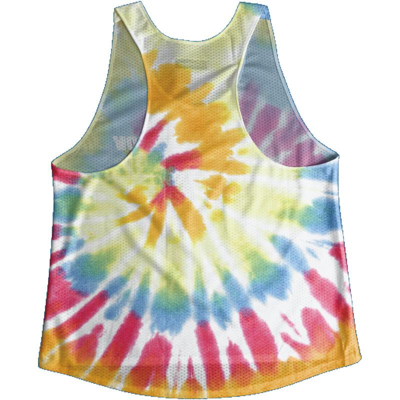 Singlet Rainbow Tie dye Ladies