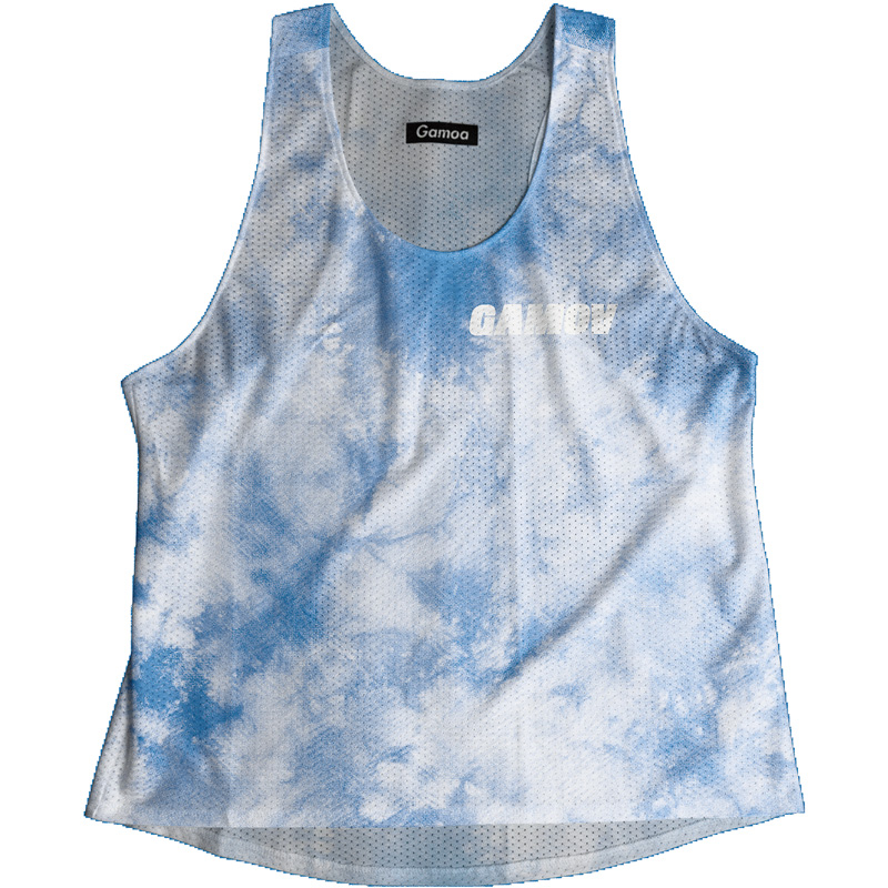 Singlet Blue Tie dye Ladies