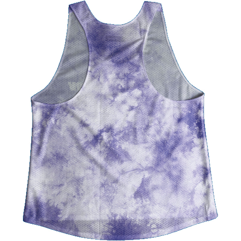 Singlet Purple Tie dye Ladies