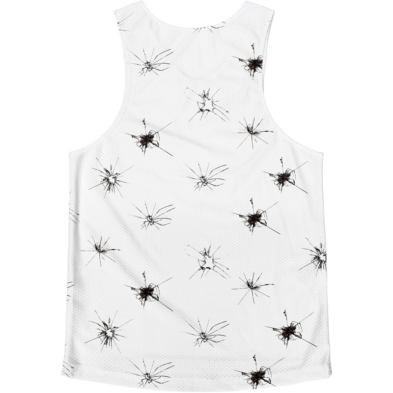 SleevelesT Rainbow Tie dye(collar:Navy)