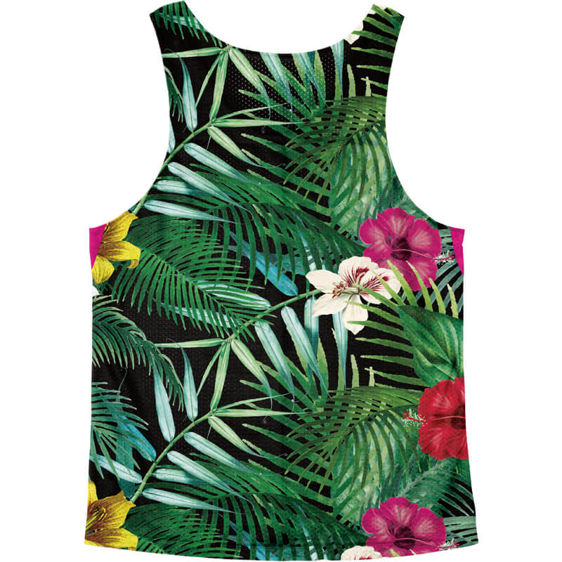 Singlet Pink Tropical