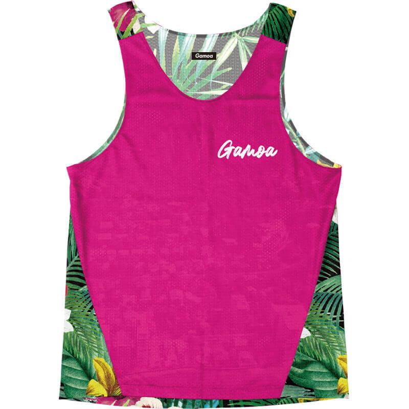Singlet Pink Tropical