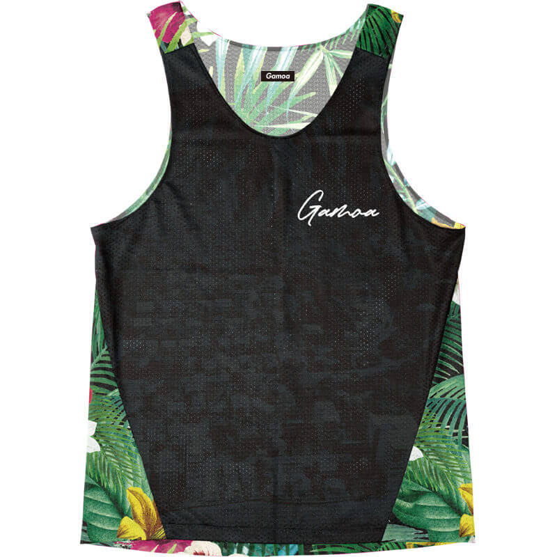 Singlet Black Tropical