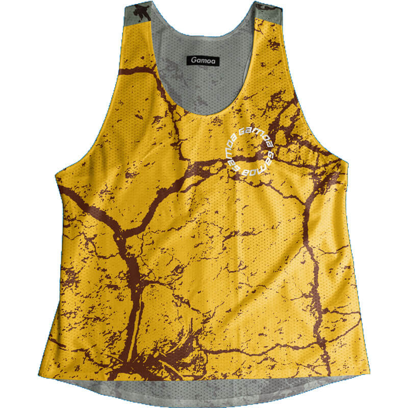 Singlet Cement Pattern Ladies