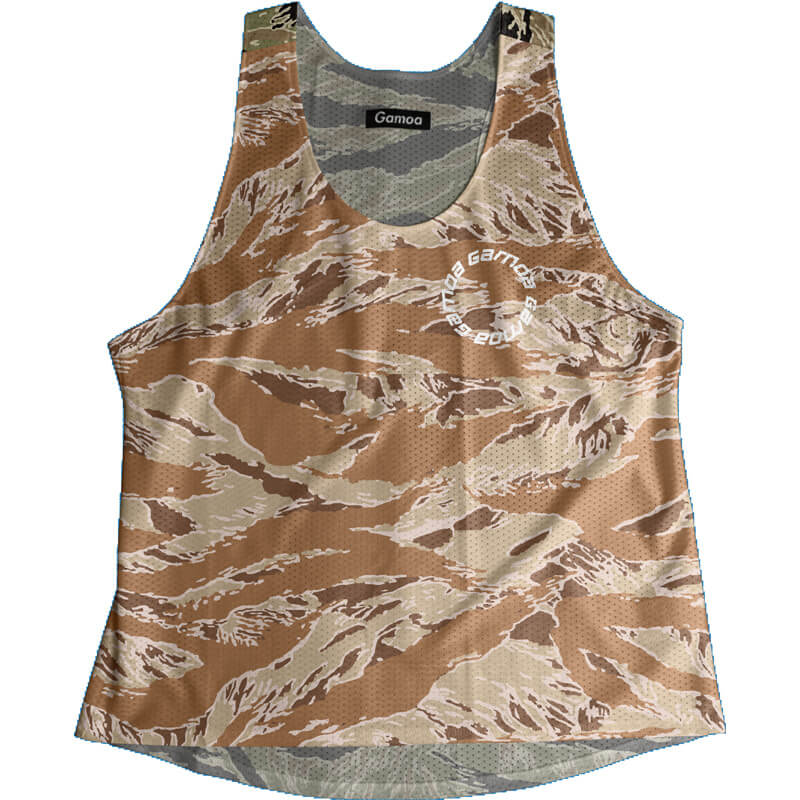 Singlet Camouflage Pattern Ladies