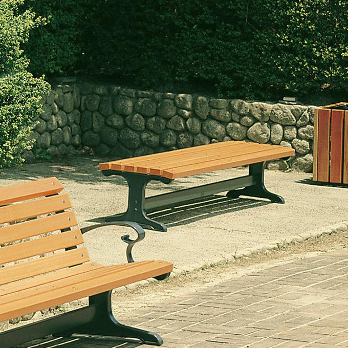 公園サニーベンチ 幅180cm 木製ベンチ木製/屋外/パークベンチ/天然木/耐久/高品質/業務用/公共施設/休憩所/