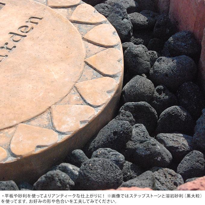 欧風 花壇ブロック レンガ調ボーダー アール 4個セット 花壇 レンガ仕切り コンクリート/土留め ガーデニング/簡単 置くだけ 囲い/ヨーロピアン 洋風/西洋/おしゃれ/