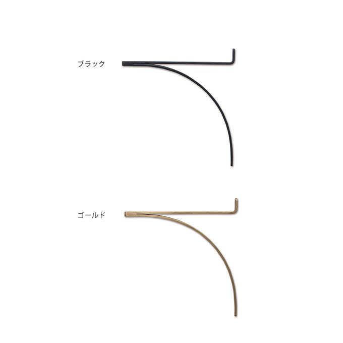ブラケット アイアン R型 アイアンブラケット M 棚受け棚受け金具/ラック パーツ/金具/シンプル/壁 棚/収納/