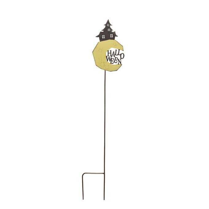 ガーデンピック ハロウィン おばけマンション L ガーデニング ピック鉢 飾り 花壇 目印 おしゃれ/ガーデニング雑貨/フラワーピック/