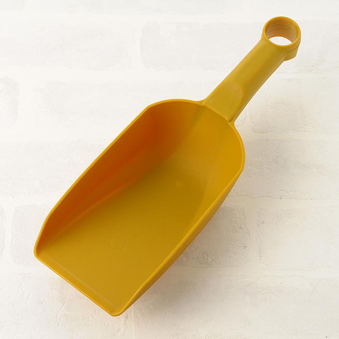 角型スコップ 軽量プラスチック 中 ショベル 小さい移植ゴテ シャベル/ガーデニング/片手 小型/庭 植え替える/移し替える/植物 入れ替え/土 掘る/いじり 地面/