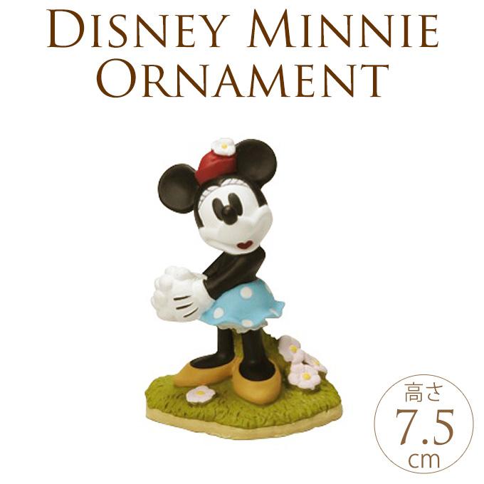 Disney  ミニー ガーデンフィギュア 花束 ミニーマウス フィギュアディズニー オーナメント/ガーデニング/グッズ/