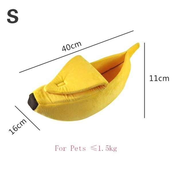Cat into them.猫ちゃん安心スペース BANANA BED S M L SIZE