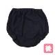 【女の子】オーバーパンツ ブルマー型 2枚組 黒/無地 100〜165cm【綿100%】