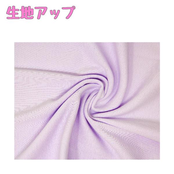 【女の子】キッズジュニア キャミソール 3枚組 ピンク・紫・水色/無地/リボン付き 100〜160cm【綿100% 吸水速乾】