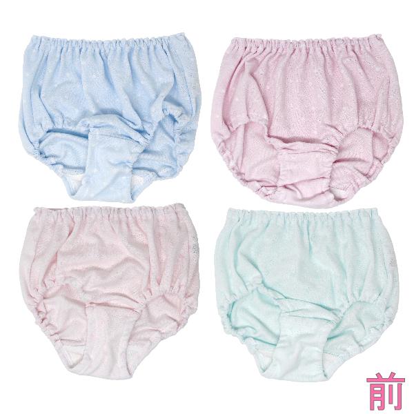 【女の子】キッズジュニアショーツ 3枚組 ランダム 120〜165cm【綿混・日本製】