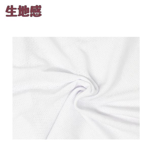 【女の子】胸二重キャミソール 2枚組 白/ラメワンポイント 140〜165cm【吸水速乾・メッシュ素材】