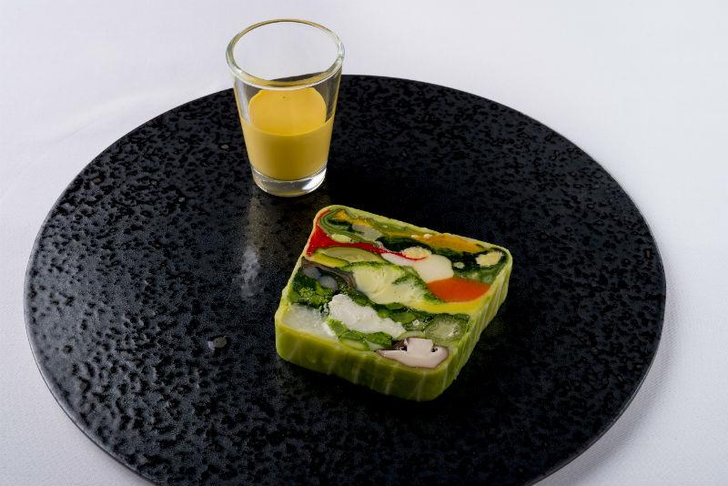 20種類の野菜のテリーヌ