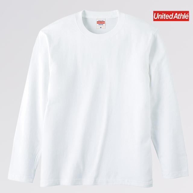 5.6オンス ロングスリーブTシャツ( 001 ホワイト )