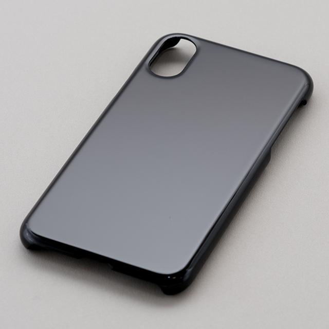 iPhone X/Xs用ハードケース(黒)