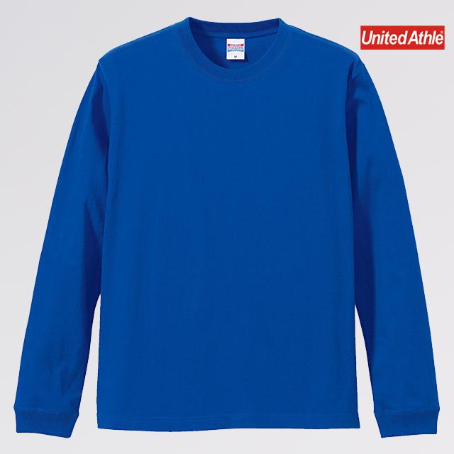 5.6オンス ロングスリーブ Tシャツ(1.6インチリブ)(カラー選択 )