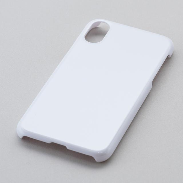 iPhone X/Xs用ハードケース(白)