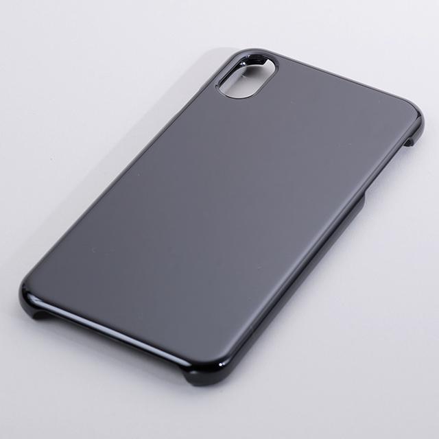 iPhone Xs MAX用ハードケース(黒)